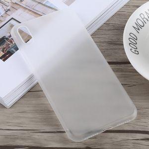 auto-hightech Coque housse pour iphone XS Ultra-mince Dépoli PP pour l'iPhone XS Max(Blanc)