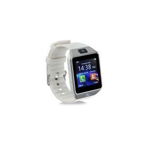 Objet connécté - high tech  auto-hightech Montre intelligente SIM Téléphone 1.56 pouces LCD avec Moniteur de sommeil caméra –Blanc