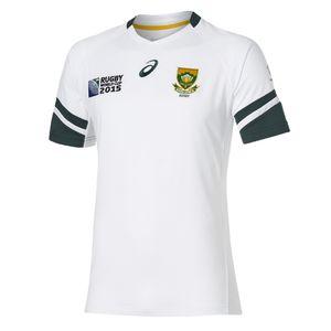 ASICS Maillot de rugby Afrique du Sud Asics Maillot Afrique du Sud ext�rieur 15/16 Fan