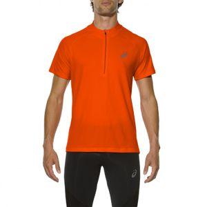 running homme ASICS Asics Tee-Shirt Race SS 1/2 Zip Top