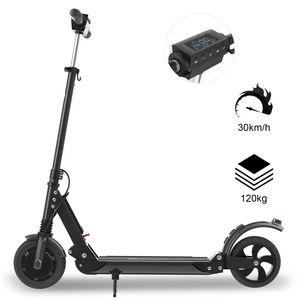 EVERCROSS Evercross E1 Trottinette Électrique Pliable, patinette adulte scooter noir
