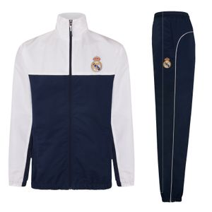 Football garçon REAL MADRID Real Madrid officiel - Lot veste et pantalon de survêtement thème football - garçon