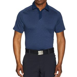 Mode- Lifestyle homme UNDER ARMOUR Threadborne Homme Polo technique Bleu Under Armour