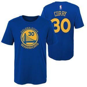 Mode- Lifestyle enfant NBA T-shirt NBA Stephen Curry Golden State Warriors Bleu pour enfant taille - XL (165-175cm)