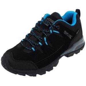 Randonnée pédestre femme REGATTA Chaussures marche randonnées Holcombe low noir lady