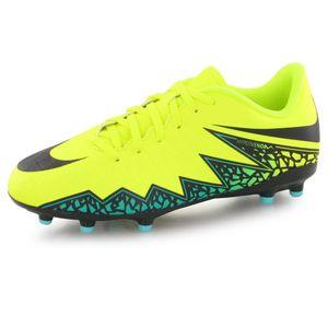 Football enfant NIKE Nike Hypervenom Phelon Ii Fg jaune, chaussures de football enfant