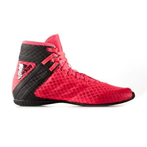Boxe homme ADIDAS adidas Speedtex 16.1 Mens Adult Boxing Trainer Shoe Boot Red/Black