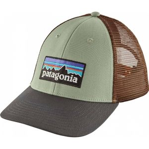 Mode- Lifestyle homme PATAGONIA Patagonia - P-6 Logo LoPro Trucker Casquette (vert)