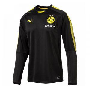 Football homme PUMA 2017-2018 Borussia Dortmund Puma Training Sweat Top (noir)