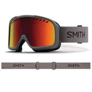 Sports d'hiver  SMITH Masque De Ski/snow Smith Project Charcoal Red Solx Sp Af