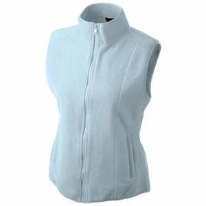 Mode- Lifestyle femme JAMES & NICHOLSON Gilet sans manches bodywarmer polaire femme - JN048 - bleu clair