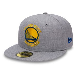 Mode- Lifestyle homme NEW ERA Casquette New Era 59fifty Nba Heather Fitted Golden State Warriors