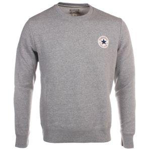 Athlétisme homme CONVERSE Converse Chuck Taylor Patch Core Mens Crew Sweatshirt Grey - S