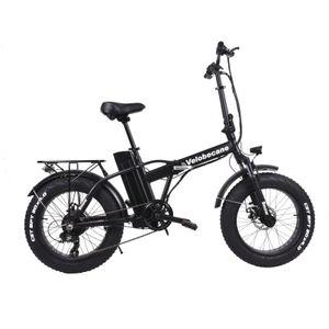 Cycle adulte VELOBECANE Vélo électrique Velobecane Snow noir