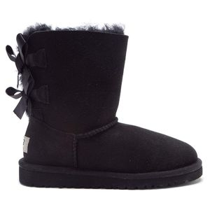 fille UGG Botte Ugg Australia Bailey Bow Cadet - T-BAILEY-BOW-3280-BLK
