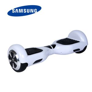 Glisse urbaine  COOL&FUN COOL&FUN HOVERBOARD GYROPODE BATTERIE SAMSUNG 6,5 POUCES BLANC BLUETOOTH