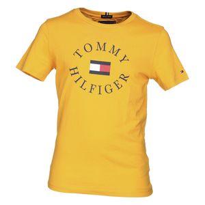 Mode- Lifestyle garçon TOMMY HILFIGER Tee Shirt Garçon Tommy Hilfiger Kb0kb04676 Essential Tomm 720 Radiant Yellow