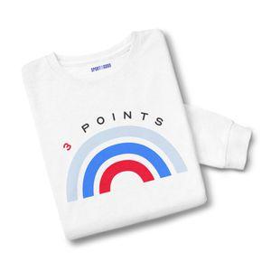 Basket ball adulte SPORT IS GOOD Sweatshirt mixte 3 points