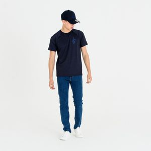 Mode- Lifestyle adulte NEW ERA T-Shirt NBA Cleveland Cavaliers New Era Engineered Fit Bleu pour Homme Taille - M