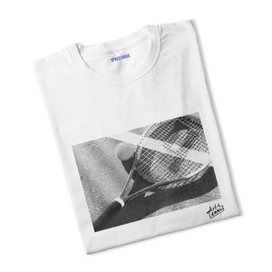 Tennis garçon SPORT IS GOOD T-shirt garçon Black & White Art x Tennis