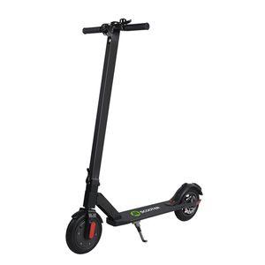 COOL&FUN Trottinette électrique patinette Pliable S5 - Batterie LG - Lumières LED - Future Design - Ultra légère - Ecran LCD scooter