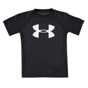Multisport garçon UNDER ARMOUR Couleur Unie T-shirt Manche Courte Ras du Cou Grande Logo Imprimé