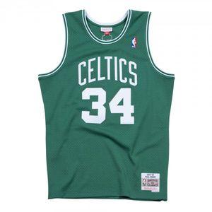 Basketball adulte MITCHELL & NESS Maillot NBA Paul Pierce Boston Celtics 2007-08 Mitchell & ness Hardwood Classics swingman Vert taille - L