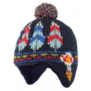 Ski Bébé BART'S BARTS-Bonnet peruvien jacquard rayé bleu marine bébé garçon du 1 au 3 ans Barts