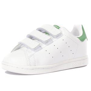 Mode- Lifestyle femme ADIDAS Stan Smith Bébé Garçon Fille Chaussures Blanc Adidas