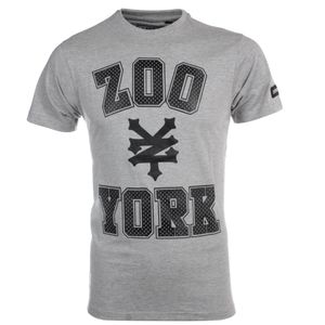 Athlétisme homme ZOO YORK Zoo York Stone Mens Skate Fashion T-Shirt Tee Grey - S