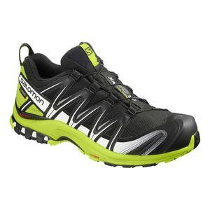 homme SALOMON Chaussures Salomon XA PRO 3D GTX noir blanc vert