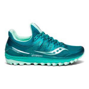 Trail femme SAUCONY Chaussures Saucony Xodus ISO 3 bleu femme