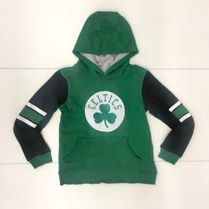Mode- Lifestyle enfant NBA Sweat à capuche NBA Boston Celtics Block Action Vert pour enfant Taille - XL (165-175cm)