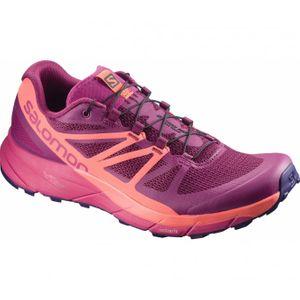 running femme SALOMON Salomon - Sense Ride Femmes chaussure de course (rose)