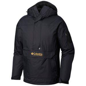 Mode- Lifestyle homme COLUMBIA Challenger black 1/2 zip