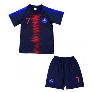 Mode- Lifestyle enfant NPZ Ensemble short et maillot de foot Paris enfant News Taille de 4 é 14 ans - 6 ans bleu