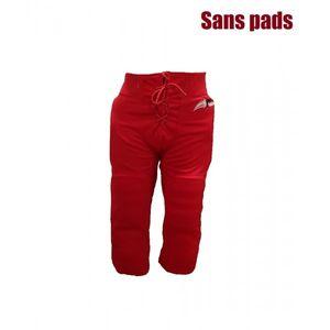 RAWLINGS Pantalon de football américain Sportland rouge pour adulte taille - L