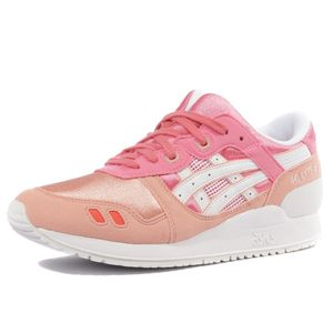 Mode- Lifestyle femme ASICS Gel Lyte III GS Fille Chaussures Rose Asics