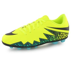 Football enfant NIKE Nike Hypervenom Phade Ii Fg jaune, chaussures de football enfant