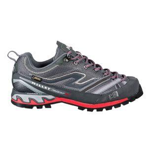 Randonnée pédestre femme MILLET Chaussures Basses D'alpinisme Gore-tex Millet Ld Trident Gtx Hibiscus/heather Grey Femme