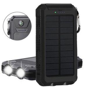 CELLYS Batterie solaire double USB 10 000MAh couleur - Noir