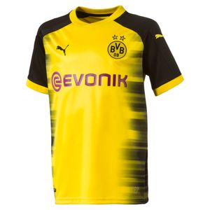 Football homme PUMA 2017-2018 Borussia Dortmund Puma UCL domicile Football Shirt