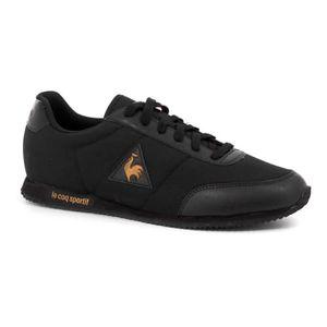 homme LE COQ SPORTIF Chaussures Le Coq Sportif Racerone Nylon Patent noir doré