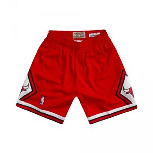 Basketball adulte MITCHELL AND NESS Short NBA Chicago Bulls 1997-98 Mitchell & Ness Swingman Rouge pour Homme taille - S