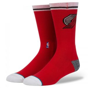 Basket ball homme STANCE Chaussettes NBA Stance Blazers Arena Logo