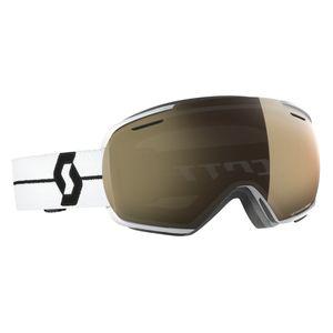 Sports d'hiver  SCOTT Masque De Ski/snow Scott Linx Ls White/blacklight Sensitive Bronze Chrome