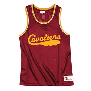 Basket ball homme MITCHELL AND NESS T-shirt M&N Nba Mesh Top Cleveland Cavaliers