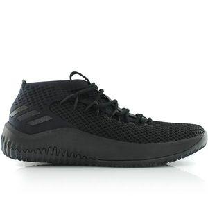 Basketball enfant ADIDAS Chaussures de Basketball adidas Dame 4 Noir pour enfant Pointure - 36 2/3