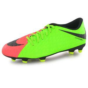 Football homme NIKE Nike Hypervenom Phade Iii Fg () vert, chaussures de football homme