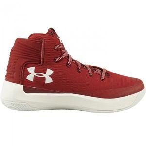 Basketball enfant UNDER ARMOUR Chaussures de Basketball Under Armour SC 3Zero rouge Pour Juniors Pointure - 36.5